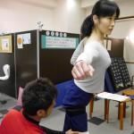 ダンスインストラクター 自身の大会にむけて鍛錬中